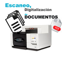 SERVICIO DE ESCANER DE DOCUMENTOS